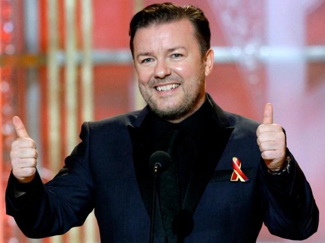 TV Gervais Golden Globes