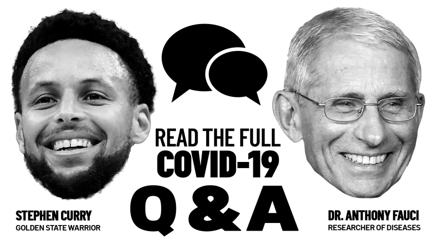 stephen curry and dr. anthony fauci q&a full transcript