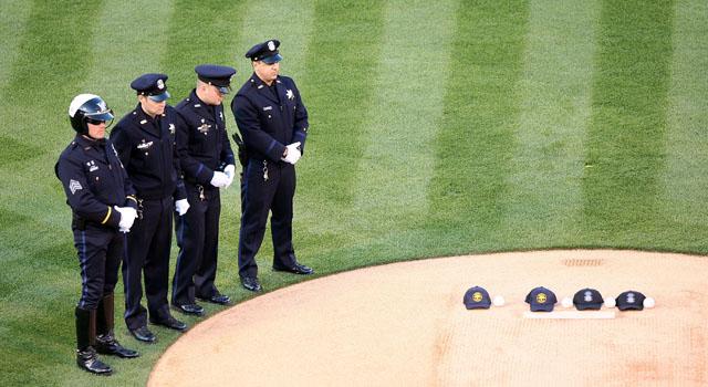 041109 Oakland police baseball
