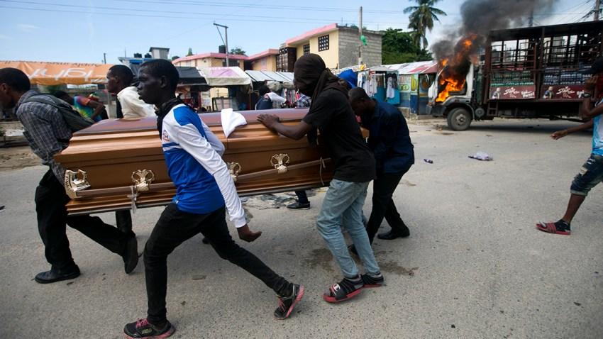APTOPIX Haiti Political Turmoil