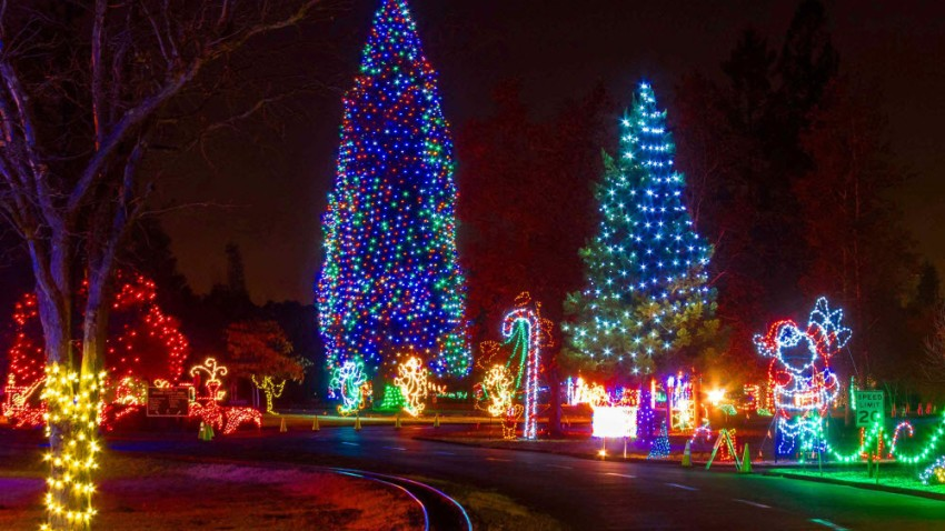 Fantasy of Lights Drive-thru – NBC Bay Area