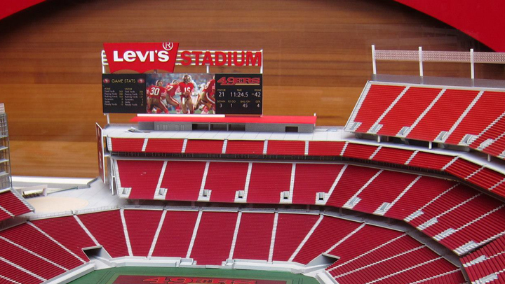 Model of Levi's Stadium