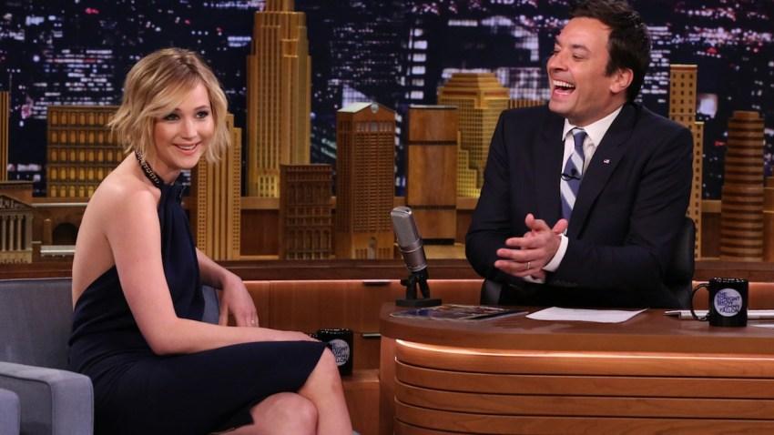 WATCH: Jennifer Lawrence, Jimmy Fallon Tell Awkward ...