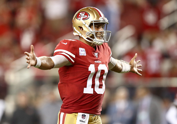 49ers Trounce Browns To Go 4 0 For First Time Since 1990