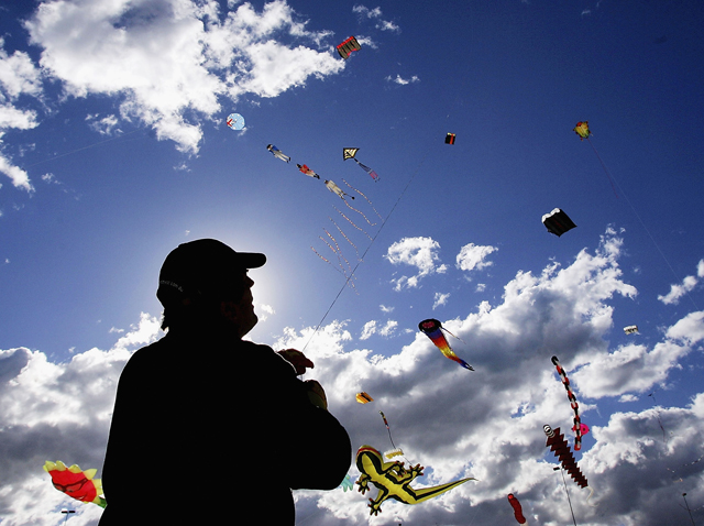March 5 -- Kite Parade and Festival