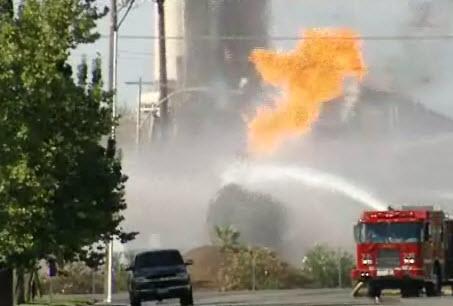 Lincoln Tanker Fire