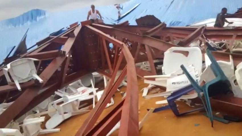 Nigeria Collapsed Church