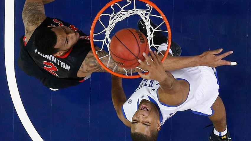 APTOPIX SEC Kentucky Georgia Basketball