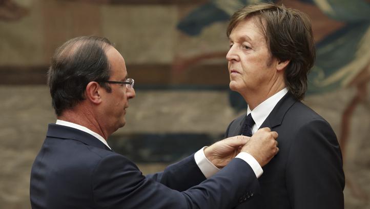 France Paul McCartney Legion of Honor