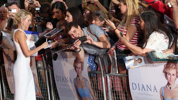 Britain World Premiere Diana- Outside Arrivals