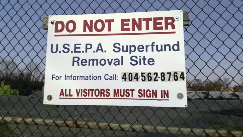 Trump Seriously Slow Walks Superfund Cleanups