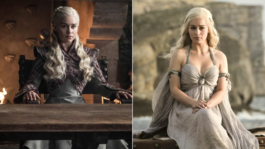 TV-Game of Thrones-Then and Now