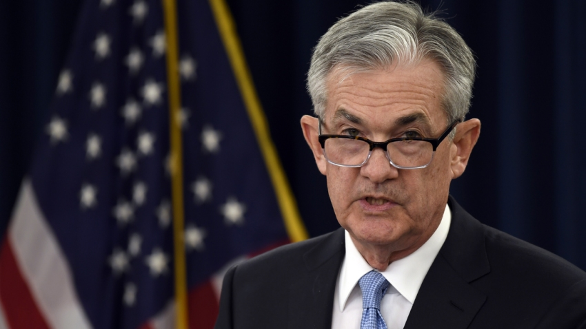 In this March 20, 2019, file photo, Federal Reserve Chair Jerome Powell speaks during a news conference in Washington.