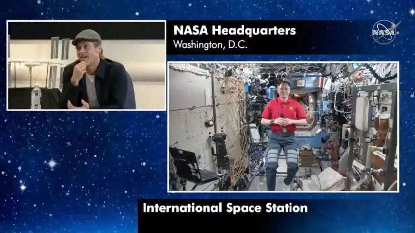NASA Brad Pitt