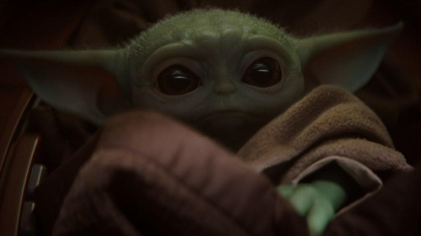 Disney Plus Baby Yoda Sharing