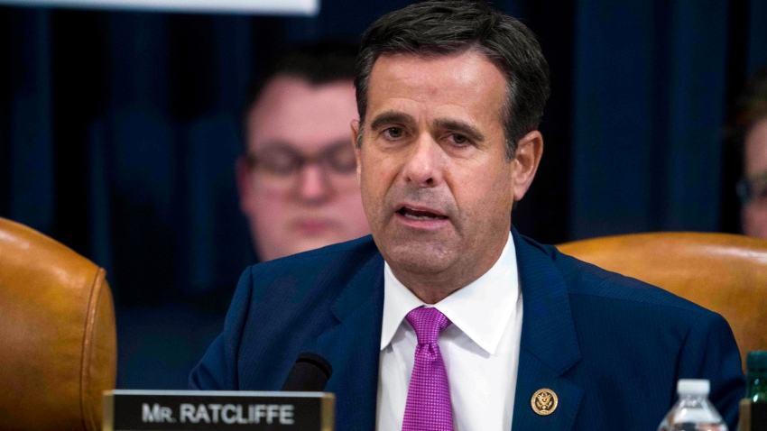 In this Dec. 9, 2019, file photo, Rep. John Ratcliffe, R-Texas, during the House impeachment inquiry hearings in Washington. Trump has nominated Ratcliffe again to be nation's top intelligence official.