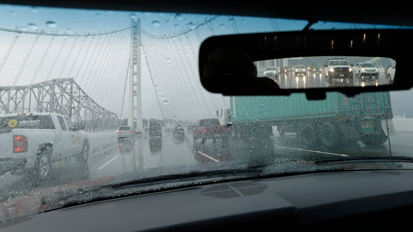 Bay Bridge Leaks Fixed