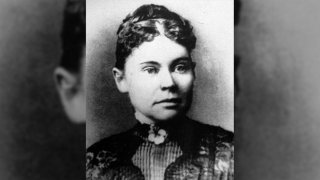 A 1890 photo of Lizzie Borden.