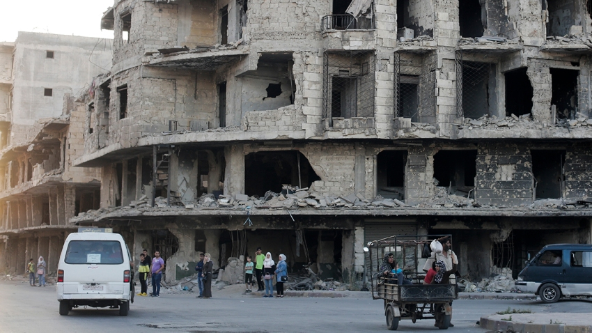 Syria Long Conflict