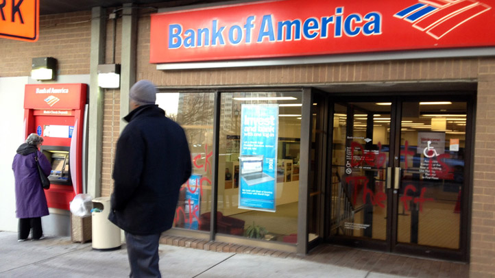 Bank of America Graffiti