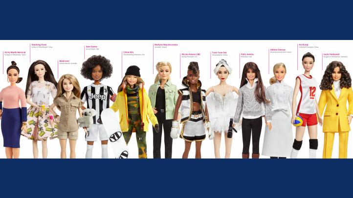 2018 Barbie Global Role Models
