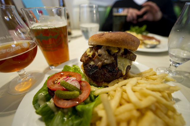 Beer Burger Pairing