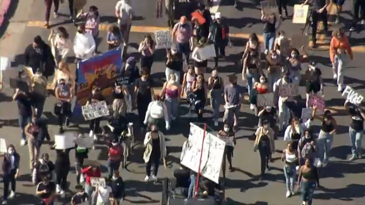 Live Blog Protests Rallies Continue In Bay Area Nbc Bay Area