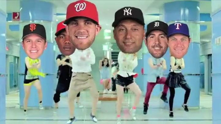 Buster_Posey_Gangham_Style_MLB_Commercial