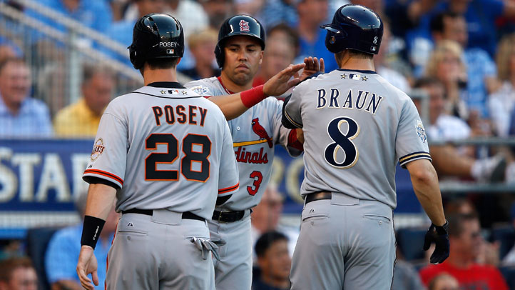 Buster_Posey_Panicked_Catching_RA_Dickey_Matt_Cain_All_Star_Game