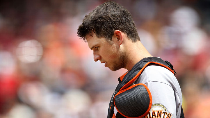 Buster_Posey_Shingles_Viral_Infection_Giants_Lineup_Wednesday