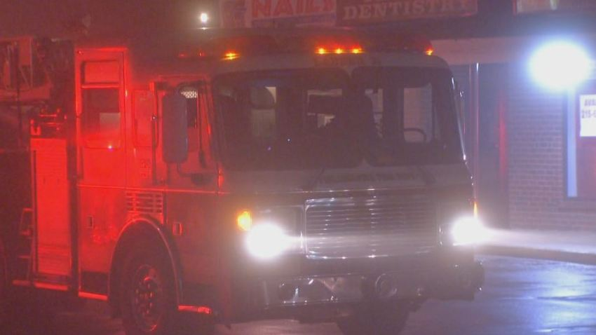 Bustleton Fire Fog Fire Truck Generic