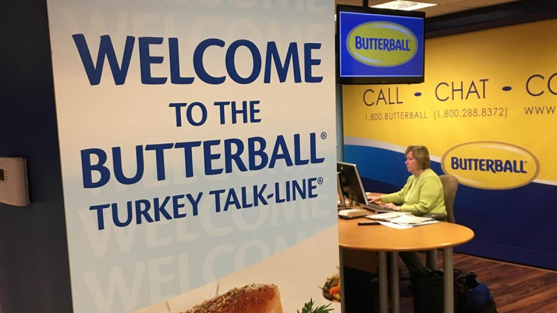Pictures: Get a Glimpse Inside the Butterball Turkey Talk-Line