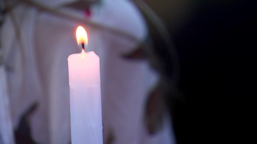 Candle Odessa vigil