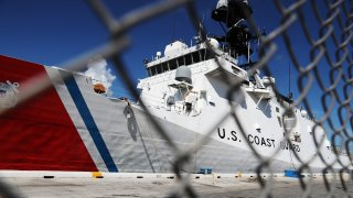 File image of the Coast Guard Cutter James.