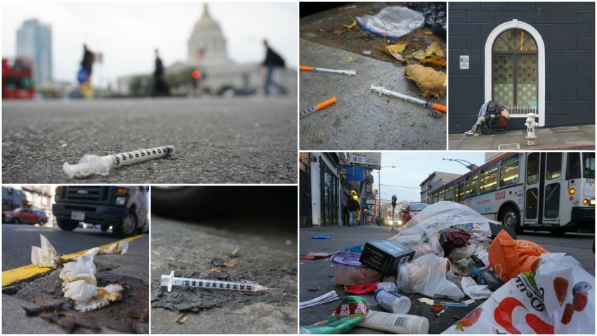Survey Of Downtown San Francisco Reveals Trash On Every Block 303