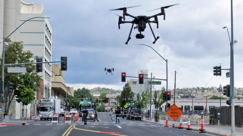 Drones Urban Testing