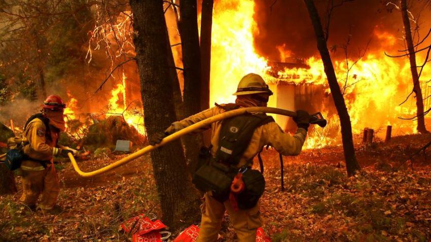 FirefightersCampFire