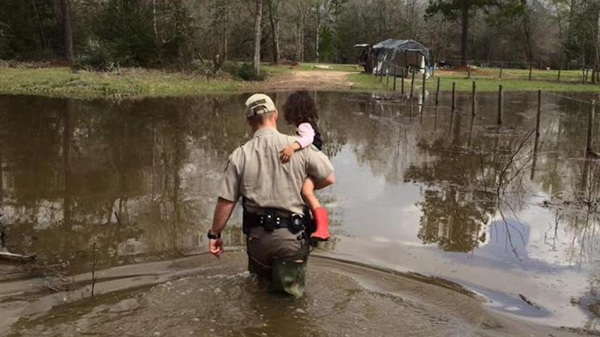 Flooding Texas