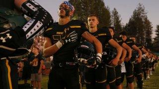 California Wildfires Paradise Football