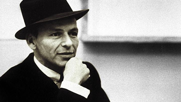 Frank Sinatra Hand Face