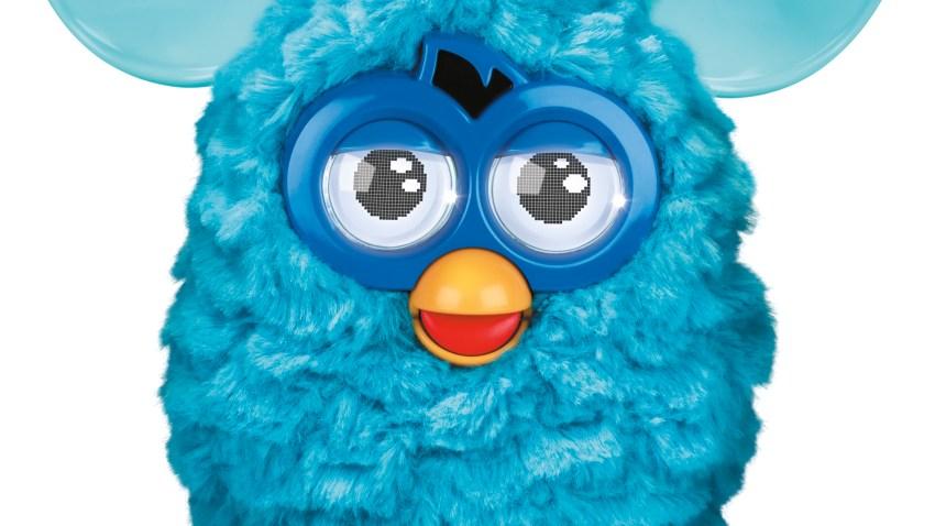 Furby Blue HI RES