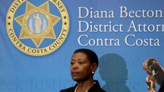 Contra Costa County District Attorney Diana Becton
