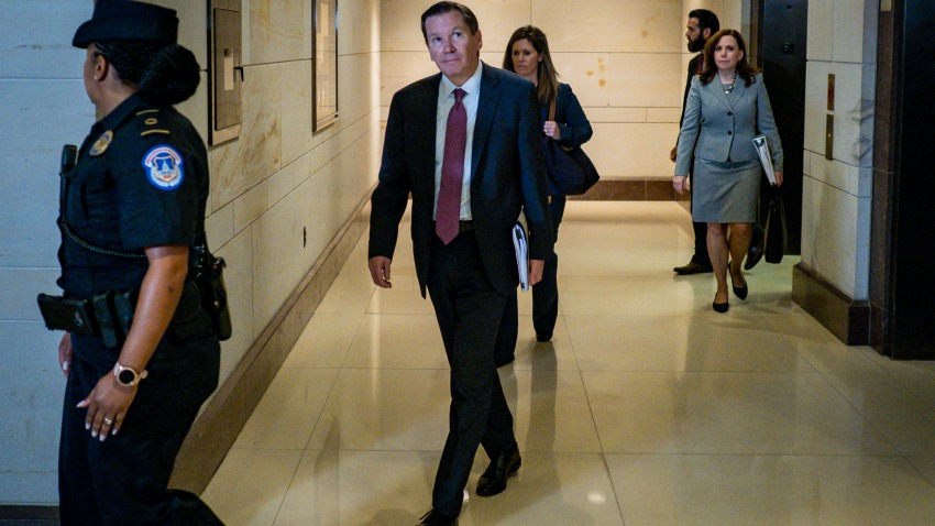 Inspector General Michael Atkinson Appears Before House Permanent Select Committee On Intelligence For Closed Door Briefing