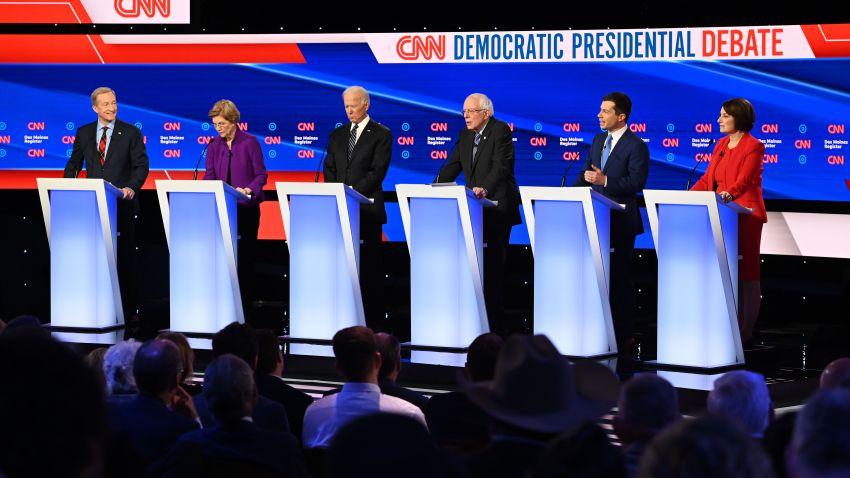 Democratic presidential hopefuls
