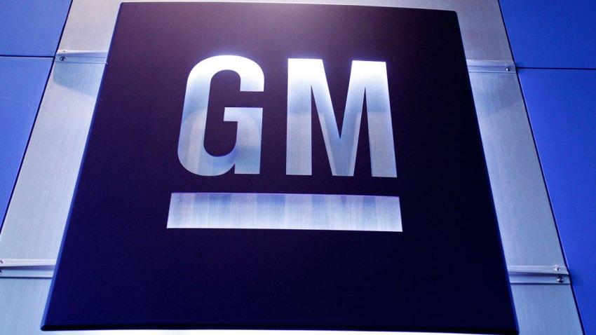 A General Motors logo is shown