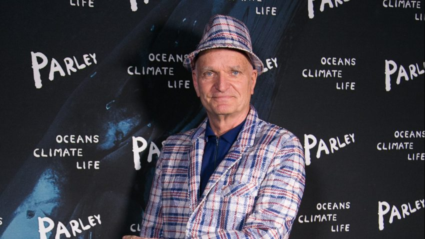 Florian Schneider attends the 'Parley Talks' photocall at Les Bains Douches on December 8, 2015 in Paris, France.