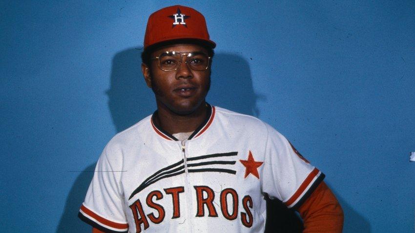 Portrait of Houston Astros Outfielder Bob Watson