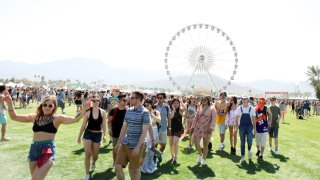 Music fans attend Day 1 of the 2016 Coachella Valley Music & Arts Festival