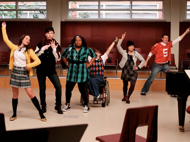 Glee Action Shot