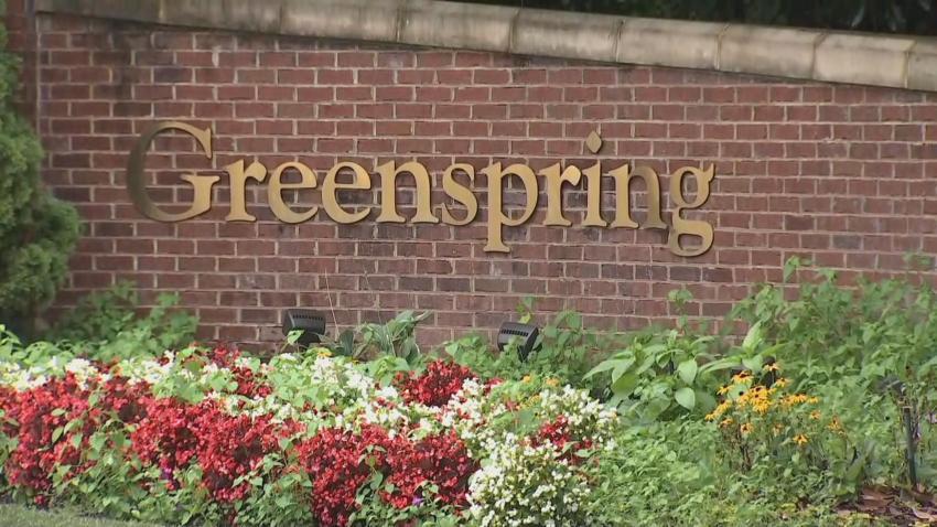 Greenspring sign